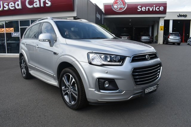 Used Holden Captiva CG MY16 LTZ AWD Gosford, 2016 Holden Captiva CG MY16 LTZ AWD Silver 6 Speed Sports Automatic Wagon