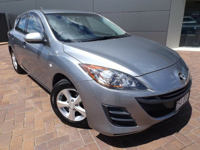 Used Mazda 3 BL10F1 MY10 Neo Activematic Toowoomba, 2011 Mazda 3 BL10F1 MY10 Neo Activematic Aluminium 5 Speed Sports Automatic Hatchback