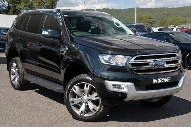 Used Ford Everest UA Trend West Gosford, 2016 Ford Everest UA Trend Black 6 Speed Sports Automatic SUV