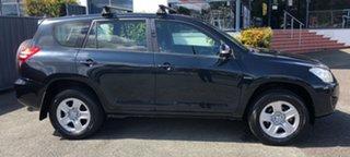 2011 Toyota RAV4 ACA38R MY11 CV 4x2 Black/Grey 4 Speed Automatic Wagon.