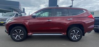 2016 Mitsubishi Pajero Sport QE MY16 GLS Burgundy 8 Speed Sports Automatic Wagon