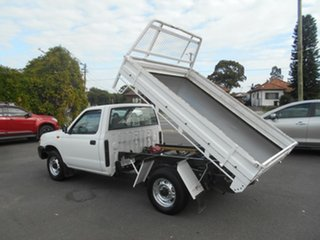 2013 Nissan Navara D22 Series 5 DX (4x2) White 5 Speed Manual Cab Chassis.