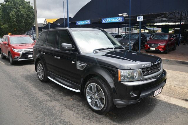 Used Land Rover Range Rover MY10 Sport 3.0 TDV6 Toowoomba, 2010 Land Rover Range Rover MY10 Sport 3.0 TDV6 Black 6 Speed Automatic Wagon