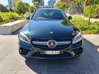 2019 Mercedes-Benz C-Class W205 800MY C43 AMG 9G-Tronic 4MATIC Green 9 Speed Sports Automatic Sedan.