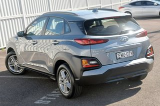 2018 Hyundai Kona OS MY18 Active 2WD Silver 6 Speed Sports Automatic Wagon.