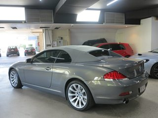 2006 BMW 6 Series E64 650i Steptronic Grey 6 Speed Sports Automatic Convertible