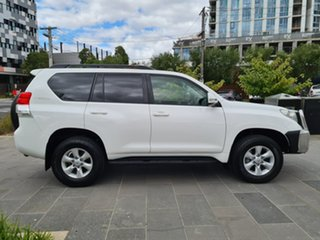2013 Toyota Landcruiser Prado KDJ150R GXL White 6 Speed Manual Wagon