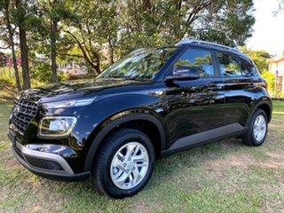 2021 Hyundai Venue QX.V3 MY21 Phantom Black 6 Speed Automatic Wagon.