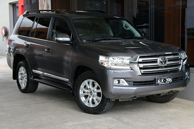 Pre-Owned Toyota Landcruiser VDJ200R Sahara South Morang, 2016 Toyota Landcruiser VDJ200R Sahara Graphite 6 Speed Sports Automatic Wagon