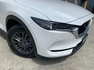 2020 Mazda CX-5 KF4WLA Touring SKYACTIV-Drive i-ACTIV AWD Snowflake White 6 Speed Sports Automatic.