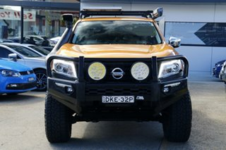 2016 Nissan Navara D23 S2 ST Orange 6 Speed Manual Utility