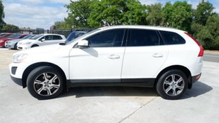 2012 Volvo XC60 DZ MY12 T6 Geartronic AWD R-Design White 6 Speed Sports Automatic Wagon