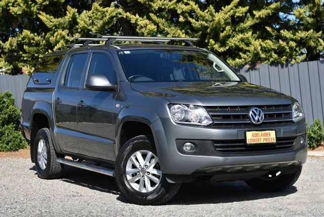 Used Volkswagen Amarok 2H MY13 TDI420 4Motion Perm Highline Enfield, 2013 Volkswagen Amarok 2H MY13 TDI420 4Motion Perm Highline Grey 8 Speed Automatic Utility