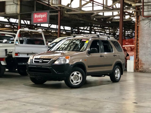 Used Honda CR-V RD MY2002 4WD Mile End South, 2002 Honda CR-V RD MY2002 4WD Gold 5 Speed Manual Wagon