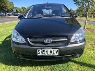 2010 Hyundai Getz TB MY09 S Black 4 Speed Automatic Hatchback.