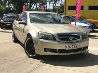 2008 Holden Statesman WM Gold 6 Speed Sports Automatic Sedan.
