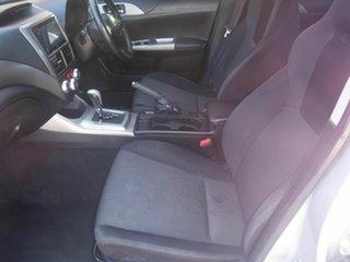 2010 Subaru Impreza G3  RS Silver 5 Speed Automatic Sedan