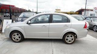 2008 Holden Barina TK MY08 Silver 5 Speed Manual Sedan.