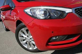 2015 Kia Cerato YD MY15 S Premium Temptation Red 6 Speed Sports Automatic Sedan.