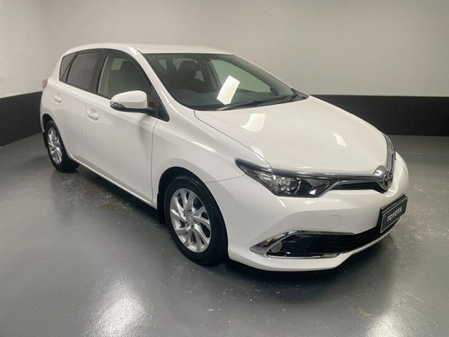 Used Toyota Corolla ZRE182R Ascent Sport S-CVT Hamilton, 2016 Toyota Corolla ZRE182R Ascent Sport S-CVT 7 Speed Constant Variable Hatchback