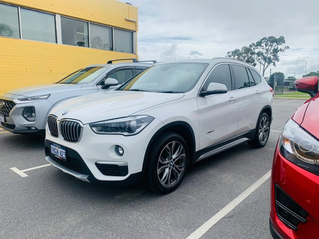 Used BMW X1 F48 sDrive18d Steptronic Canning Vale, 2016 BMW X1 F48 sDrive18d Steptronic White 8 Speed Sports Automatic Wagon