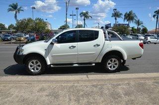 2013 Mitsubishi Triton MN MY13 GLX-R (4x4) White 5 Speed Automatic 4x4 Double Cab Utility