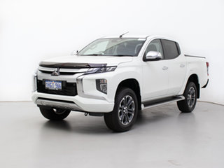 2019 Mitsubishi Triton MR MY20 GLS (4x4) White 6 Speed Manual Double Cab Pick Up.