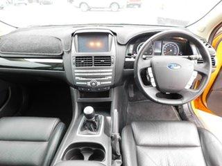 2013 Ford Falcon FG MkII XR6 Turbo Orange 6 Speed Manual Sedan