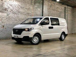2020 Hyundai iLOAD TQ4 MY20 Crew Cab White 5 Speed Automatic Van.