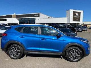 2020 Hyundai Tucson TL4 MY21 Active X 2WD Aqua Blue 6 Speed Automatic Wagon.