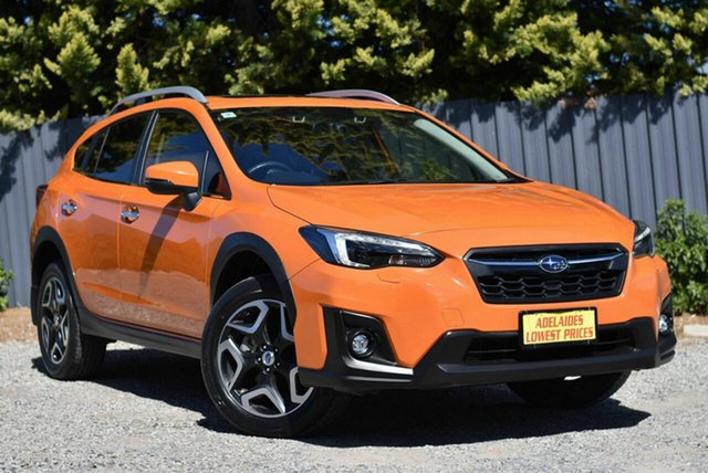 Used Subaru XV G5X MY19 2.0i-S Lineartronic AWD Morphett Vale, 2018 Subaru XV G5X MY19 2.0i-S Lineartronic AWD Orange 7 Speed Constant Variable Wagon
