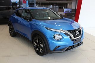2020 Nissan Juke F16 Ti DCT 2WD Vivid Blue 7 Speed Sports Automatic Dual Clutch Hatchback.