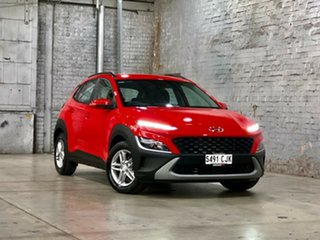 2020 Hyundai Kona Os.v4 MY21 2WD Red/Black 8 Speed Constant Variable Wagon.