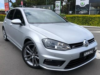 2016 Volkswagen Golf VII MY17 110TSI DSG Highline Silver 7 Speed Sports Automatic Dual Clutch.