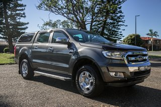 2017 Ford Ranger PX MkII 2018.00MY XLT Double Cab Magnetic 6 Speed Manual Utility.