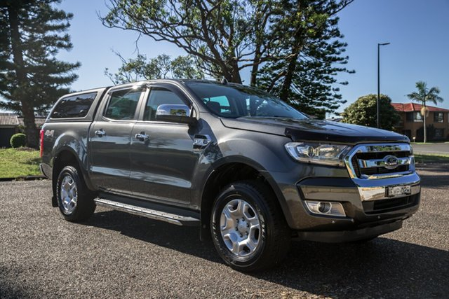 Used Ford Ranger PX MkII 2018.00MY XLT Double Cab Port Macquarie, 2017 Ford Ranger PX MkII 2018.00MY XLT Double Cab Magnetic 6 Speed Manual Utility