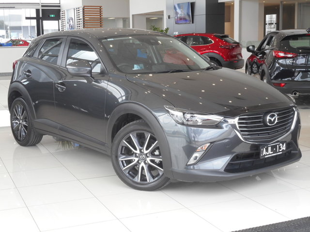 Used Mazda CX-3 DK2W7A sTouring SKYACTIV-Drive Ravenhall, 2017 Mazda CX-3 DK2W7A sTouring SKYACTIV-Drive Grey 6 Speed Sports Automatic Wagon
