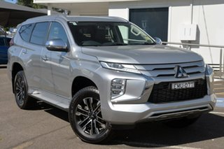 2020 Mitsubishi Pajero Sport QF MY20 GLS Silver 8 Speed Sports Automatic Wagon.