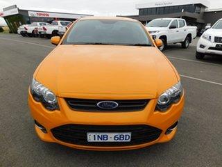 2013 Ford Falcon FG MkII XR6 Turbo Orange 6 Speed Manual Sedan.