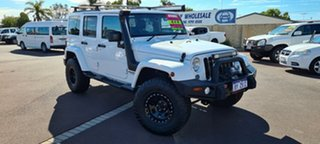 2014 Jeep Wrangler JK MY2014 Unlimited Overland White 5 Speed Automatic Hardtop.