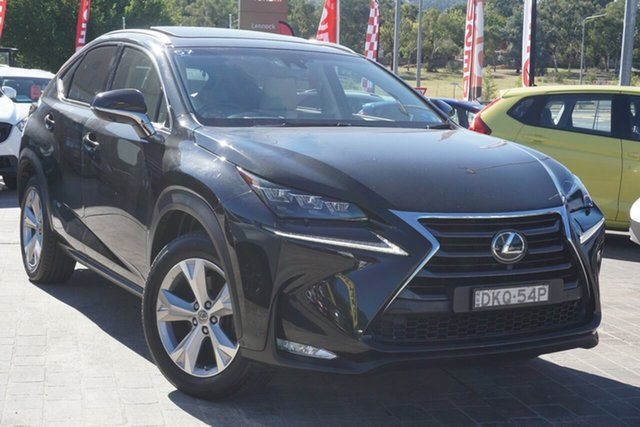 Used Lexus NX AGZ15R NX200t AWD Sports Luxury Phillip, 2016 Lexus NX AGZ15R NX200t AWD Sports Luxury Black 6 Speed Sports Automatic Wagon