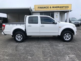 2012 Great Wall V240 K2 MY12 4x2 White 5 Speed Manual Utility.