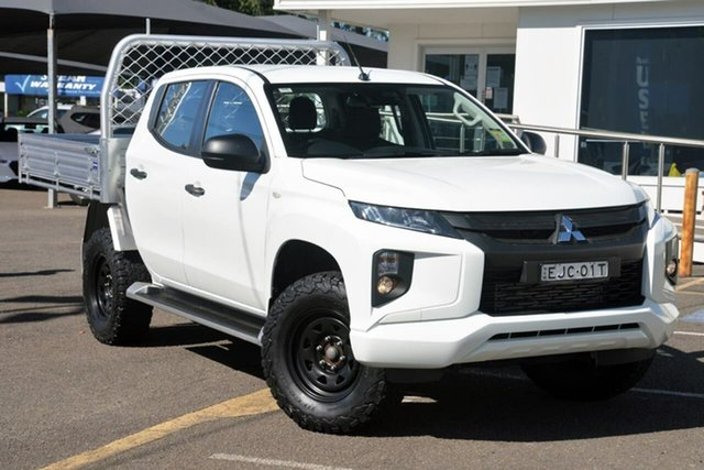 Used Mitsubishi Triton MR MY20 GLX+ Double Cab North Gosford, 2019 Mitsubishi Triton MR MY20 GLX+ Double Cab White 6 Speed Sports Automatic Utility