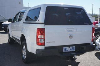 2012 Holden Colorado RG MY13 LT Crew Cab 4x2 White 6 Speed Sports Automatic Utility