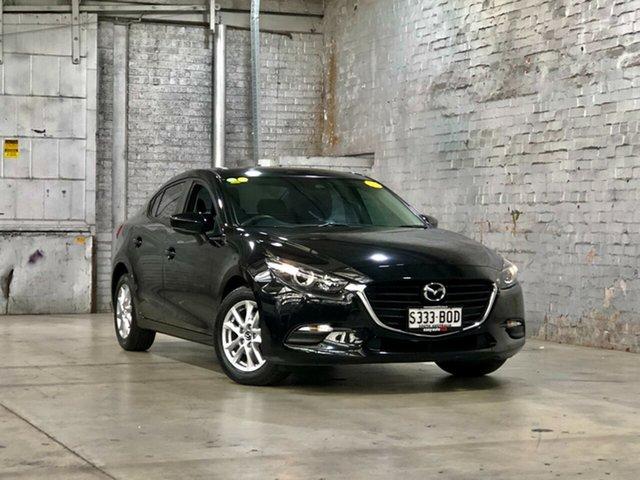 Used Mazda 3 BM5278 Neo SKYACTIV-Drive Mile End South, 2016 Mazda 3 BM5278 Neo SKYACTIV-Drive Black 6 Speed Sports Automatic Sedan