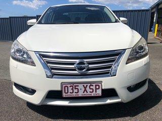 2013 Nissan Pulsar B17 TI White 1 Speed Constant Variable Sedan
