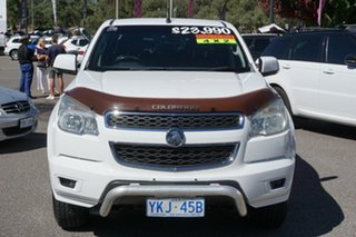 2012 Holden Colorado RG MY13 LT Crew Cab 4x2 White 6 Speed Sports Automatic Utility.
