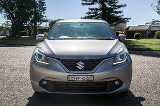 2016 Suzuki Baleno EW GL Silver 4 Speed Automatic Hatchback.