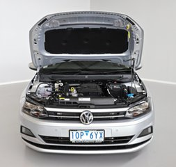 2019 Volkswagen Polo AW MY19 85TSI DSG Comfortline Silver 7 Speed Sports Automatic Dual Clutch