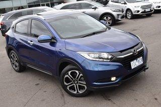 2016 Honda HR-V MY16 VTi-L Blue 1 Speed Constant Variable Hatchback.